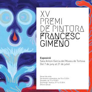 XV Premi de Pintura Francesc Gimeno - Tortosa 2019