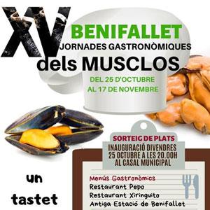 XV Jornades gastronòmiques dels musclos - Benifallet 2019