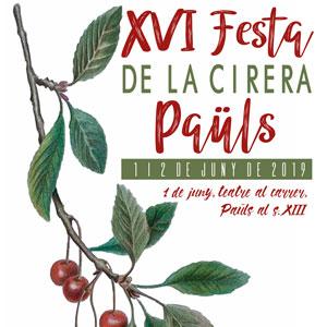 XVI Festa de la Cirera - Paüls 2019