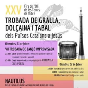 25a Trobada de gralles, dolçaines i tabals dels Països Catalans - Jesús 2020