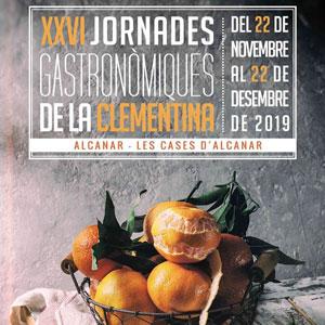 XXVI Jornades Gastronòmiques de la Clementina - Alcanar 2019