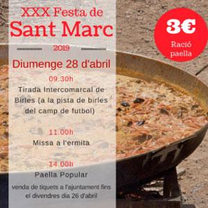 XXX Festa de Sant Marc - Corbera d'Ebre 2019
