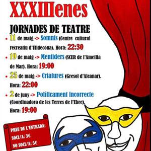 XXXIIIes Jornades de Teatre - Sant Jaume d'Enveja 2019
