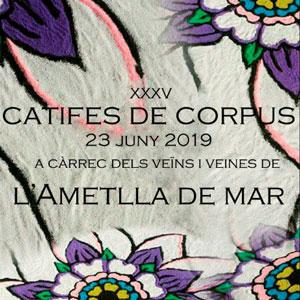 XXXV Catifes de Corpus - L'Ametlla de Mar 2019
