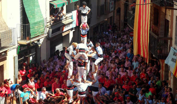 Nois de la Torre, Torredembarra, castells