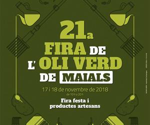 21a Fira de l'Oli verd de Maials