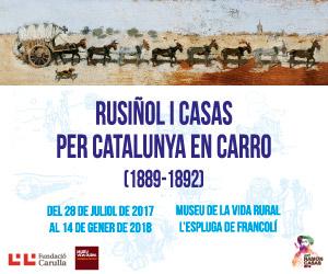 Rusiñol i Casas per Catalunya en carro(1889-1892)