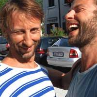 Martin Kilvady i Jurij Konjar
