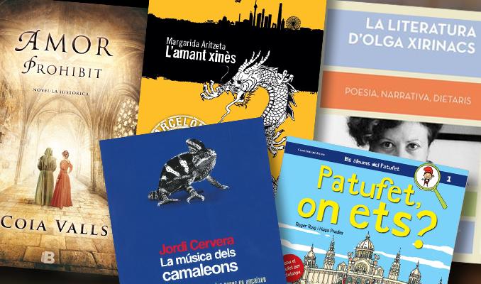Recomanacions Sant Jordi 2015
