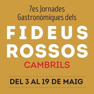 7es Jornades dels Fideus Rossos a Cambrils, 2019
