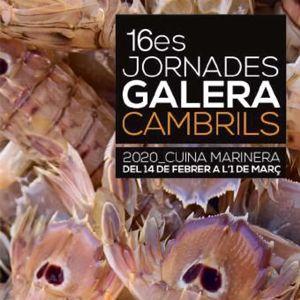 Jornades Gastronòmiques de la Galera i la Cuina Marinera, Cambrils, 2020