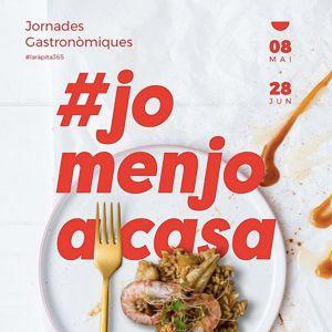 Jornades Gastronòmiques #JoMenjoACasa, La Ràpita, 2020