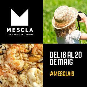 Mescla. Mostra de gastronomia de les Terres de l'Ebre - Deltebre 2019