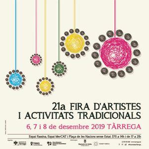 Fira d'Artistes i Activitats Tradicionals a Tàrrega, 2019