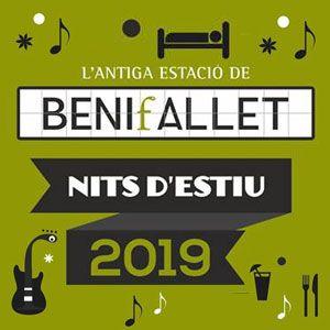 Nits d'estiu a l'Estació de Benifallet - 2019