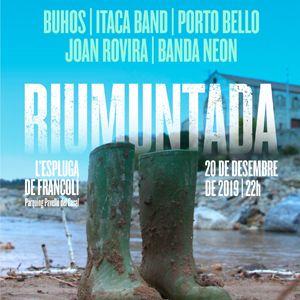 Concert de la Riuada Solidària a l'Espluga de Francolí, 2019