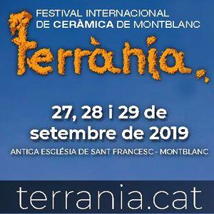 Terrània, Festival Internacional de Ceràmica de Montblanc, 2019