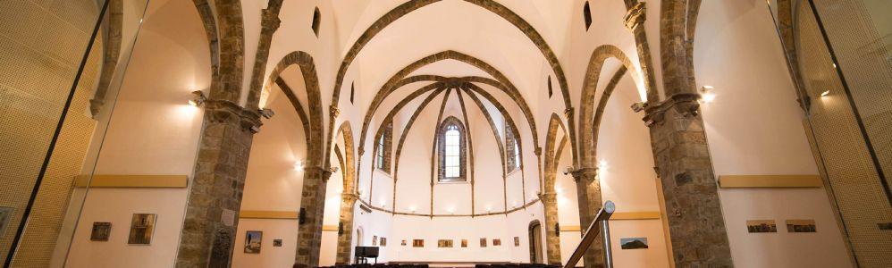 Imatge de l'interior de la Sala Sant Domènec