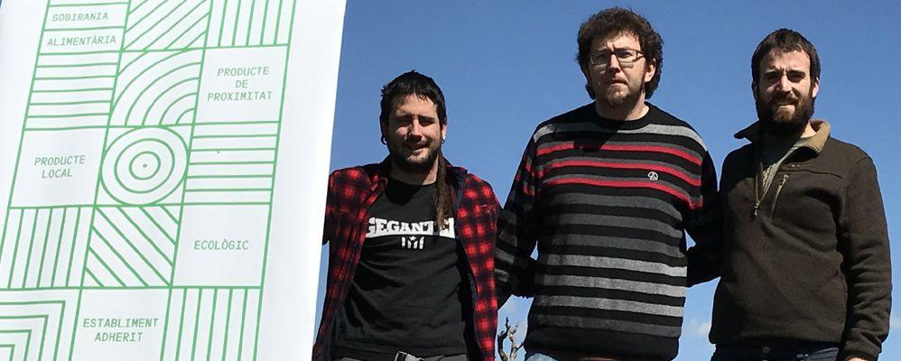 Els tres entrevistats durant la presentació del projecte | Font: Jordi Almiñana