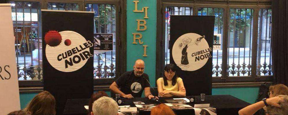 Presentació de Cubelles Noir 2018 a Alibri Llibreria, Barcelona.