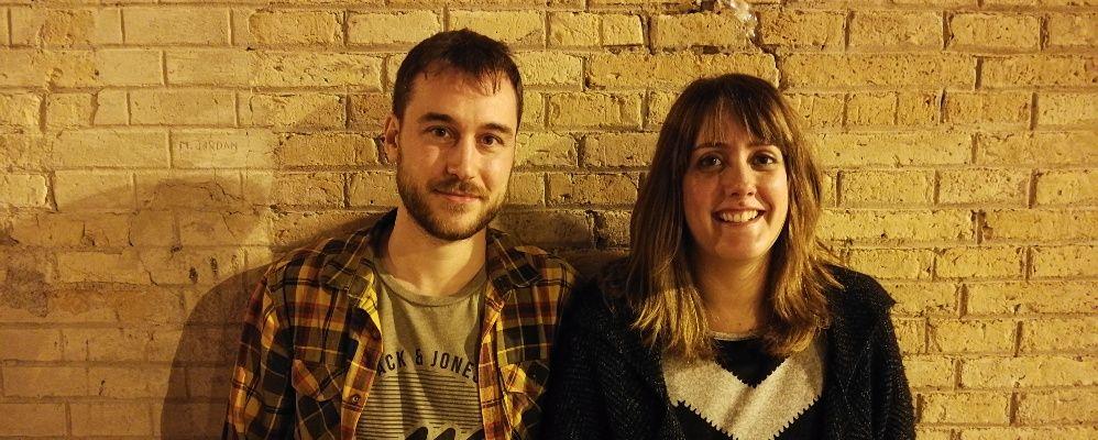 Jordi López i Júlia Cot, guionistes del 'Polònia'