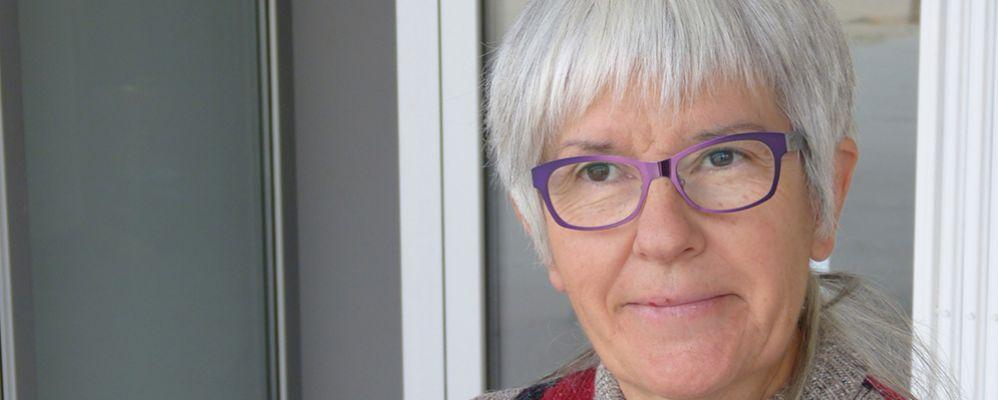 Rosa Vilalta Guillamon de Gavàs en un moment de la entrevista a les Valls d'Àneu