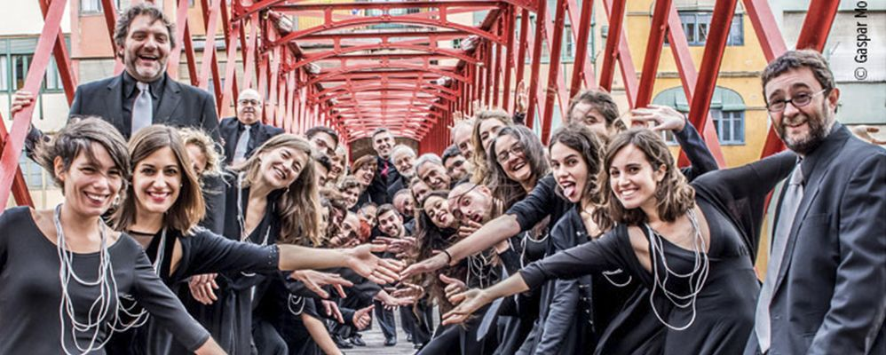 Cor de la Diputació de Girona, al Femap 2017