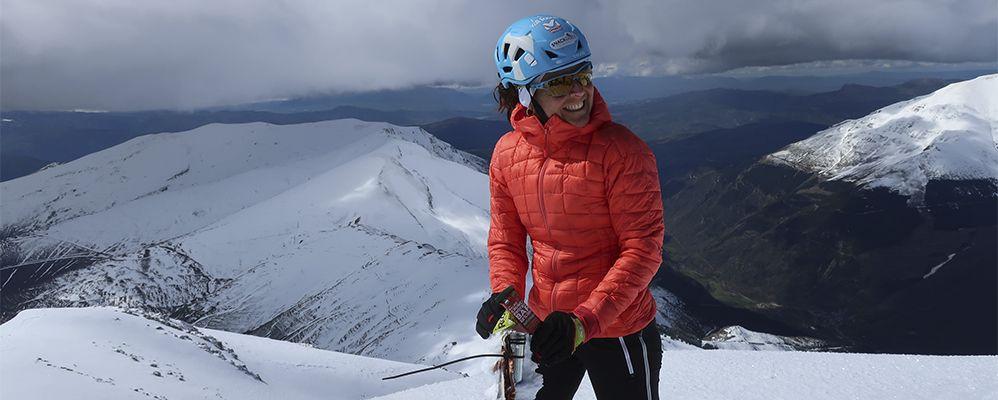 Marta Riba el passat hivern en una foto de Gerard Garreta