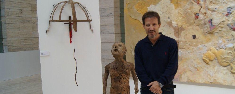 entrevista, Josep María Alarcón, art, pintura, escultura, Ex Libris, Lleida, projecte, Ramon Llull, setembre, octubre, 2016, Surtdecasa Ponent