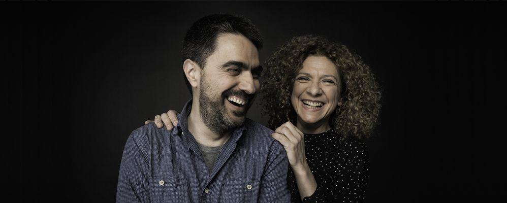 Carme Canela i Joan Monné