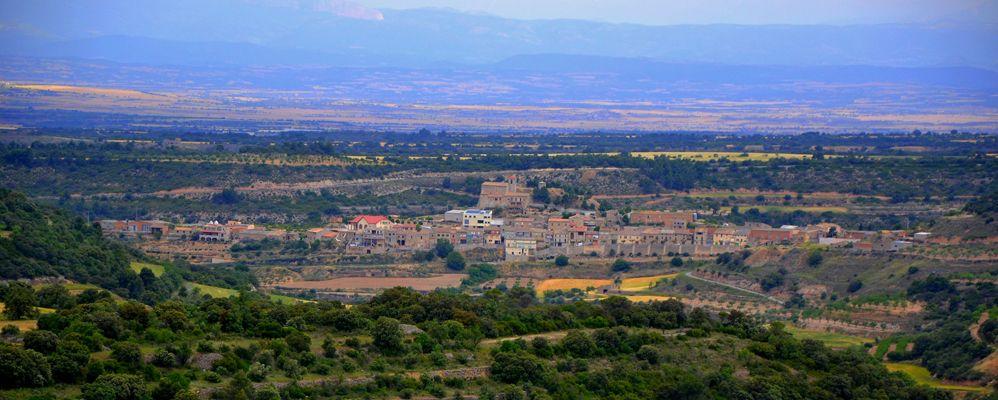 Montornès des de la Torre de l'Ametlla de Segarra