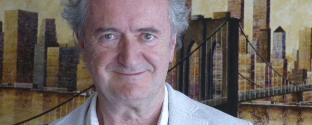 Josep de Moner durant l'entrevista