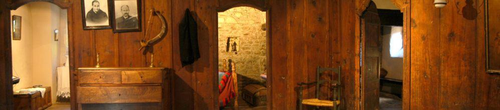 Una de les sales de la Casa Gasia