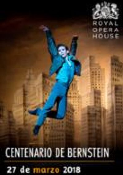 Cartell del ballet 'Centenario de Bernstein'