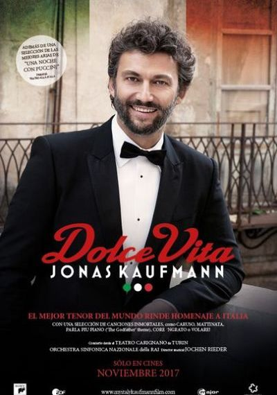 Òpera 'Dolce Vita', de Jonas Kaufmann