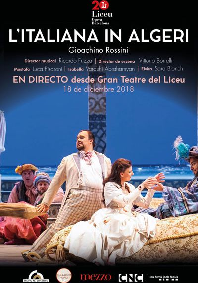 Òpera 'L'Italiana in Algeri' - Rossini