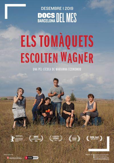 Cartell en català del documental 'Els tomàquets escolten Wagner'