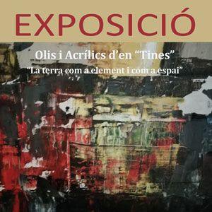 """Exposició 'La terra com a element i com a espai' de Toni Martínez i Farré """"Tines"""""""