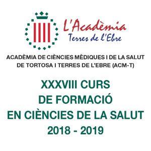XXXVIII Curs de formació en ciències de la salut 2018-2019 - Tortosa