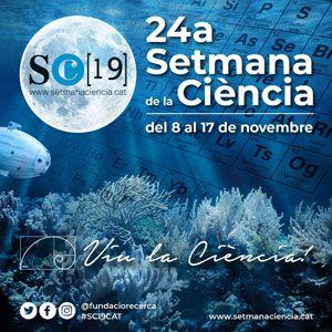 24a Setmana de la Ciència - 2019