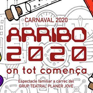 Espectacle familiar 'ARRIBO 2020. On tot comença'