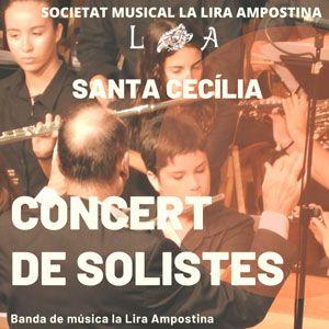 Concert de solistes - Santa Cecília - Amposta 2019
