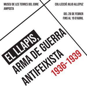 Exposició 'El llapis, arma de guerra antifeixista 1936 – 1939' - Museu de les Terres de l'Ebre 20202