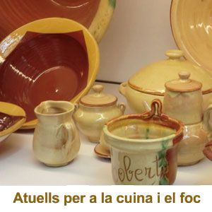 Exposició 'Atuells per a la cuina i el foc' - Museu Terracota La Galera 2019