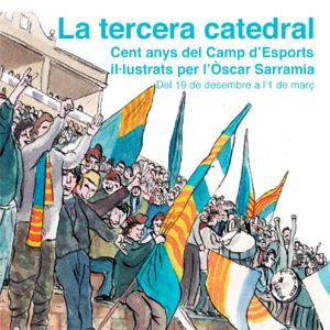 Exposició 'La tercera catedral', il·lustracions d'Òscar Sarramia
