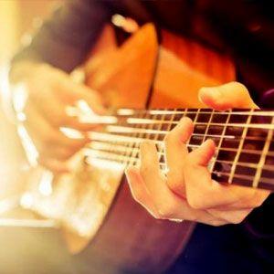 Guitarra, Músic, Tocar guitarra