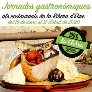 Jornades gastronòmiques de la clotxa - Ribera d'Ebre 2020