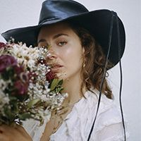 Una imatge de la cantant Le Nais