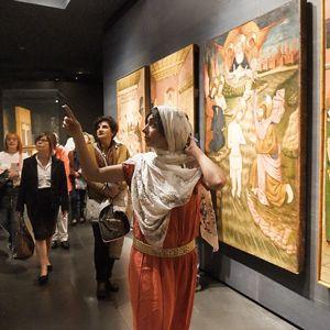 Visita teatralitazada 'En clau de dona: Maymuna, memòries d'una morisca lleidatana' al museu de lleida, 2020