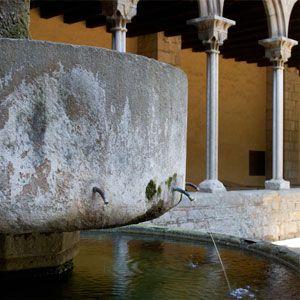 Font del claustre del Monestir de Pedralbes